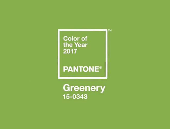 Greenery, color de 2017