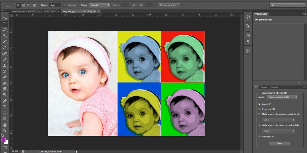 Estilo Pop Art con Photoshop
