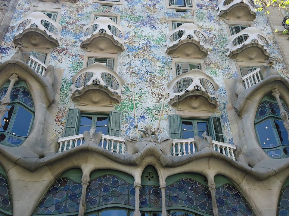 La leyenda de Sant Jordi es el rostro de la Casa Batlló