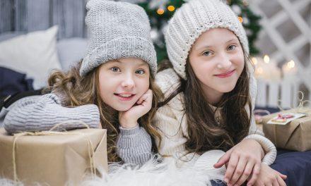 Fotografiar niños en Navidad